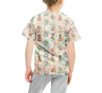 Youth Cotton Blend T-Shirt - Mickey's Easter Celebration