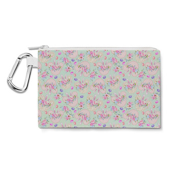 Canvas Zip Pouch - Mouse Ears Easter Bunny
