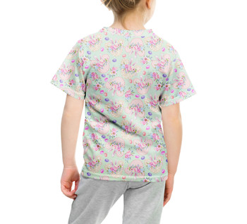Youth Cotton Blend T-Shirt - Mouse Ears Easter Bunny