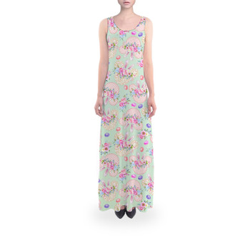 Flared Maxi Dress - Mouse Ears Easter Bunny