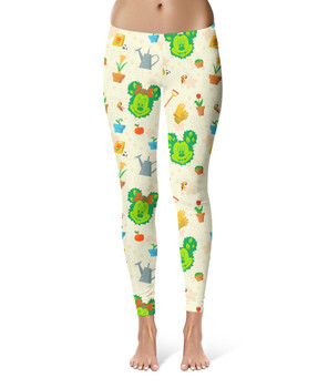 Sport Leggings - Flower & Garden Festival