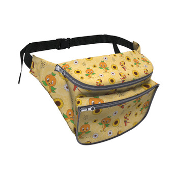 Fanny Pack - Spike The Bee and Orange Bird