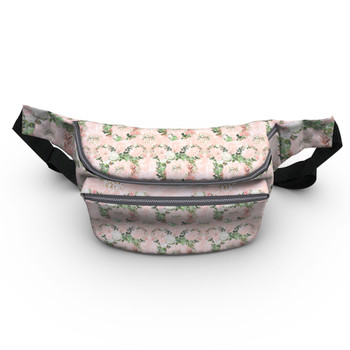 Fanny Pack - Floral Minnie Wreaths