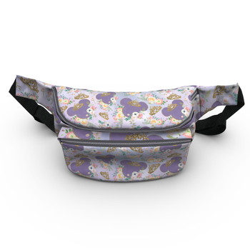 Fanny Pack - Minnie Floral Princess