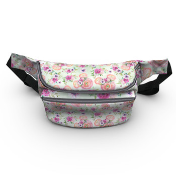 Fanny Pack - Peachy Floral Minnie Ears
