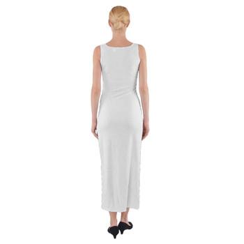 Fitted Split Maxi Dress