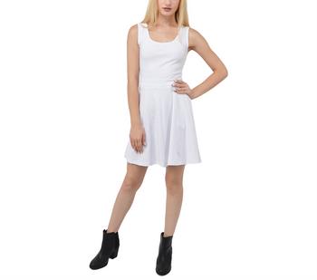 Split Back Mini Dress