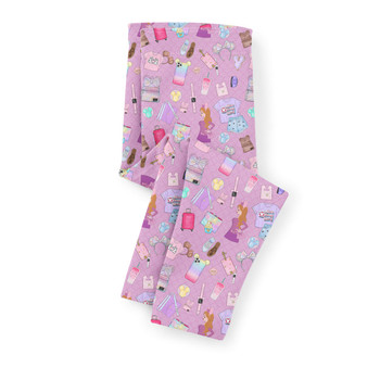 Girls' Capri Leggings - Disney Fashionista