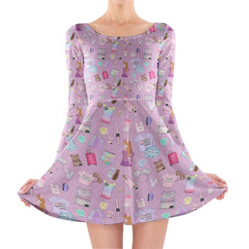 Longsleeve Skater Dress - Disney Fashionista