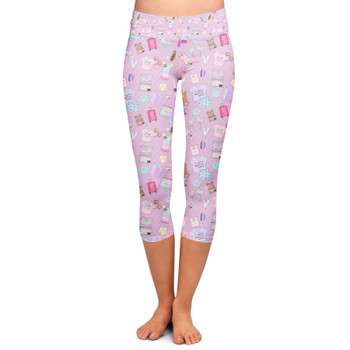 Yoga Capri Leggings - Disney Fashionista
