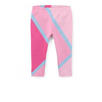 Girls' Capri Leggings - The Bubblegum Wall