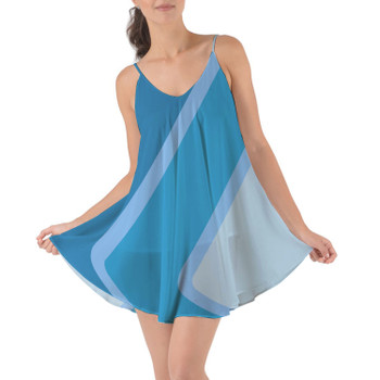 Beach Cover Up Dress - The Blueberry Wall