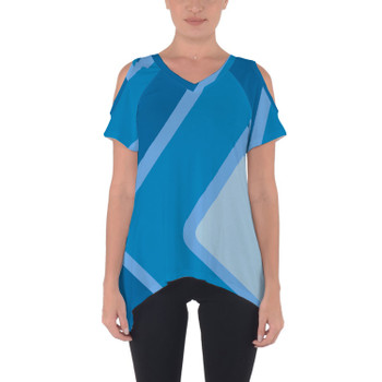 Cold Shoulder Tunic Top - The Blueberry Wall