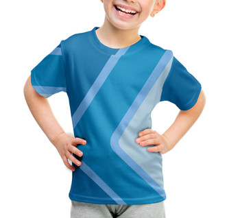 Youth Cotton Blend T-Shirt - The Blueberry Wall