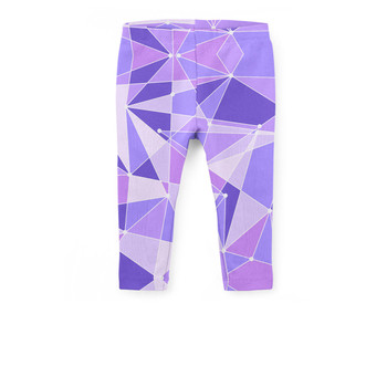 Girls' Capri Leggings - The Purple Wall