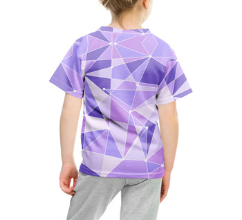 Youth Cotton Blend T-Shirt - The Purple Wall