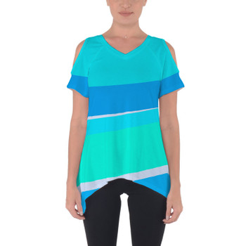 Cold Shoulder Tunic Top - The Toothpaste Wall