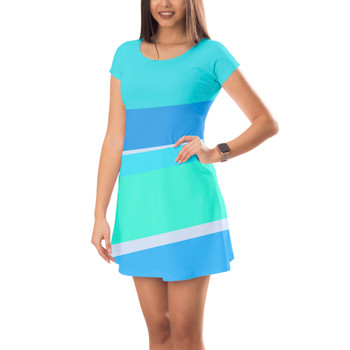 Short Sleeve Dress - The Toothpaste Wall