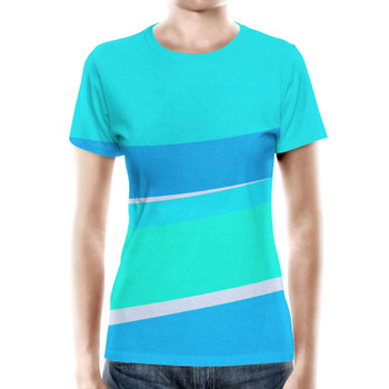 Women's Cotton Blend T-Shirt - The Toothpaste Wall