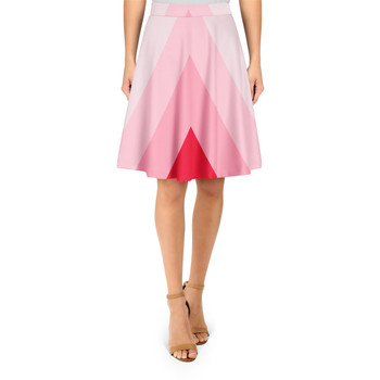A-Line Skirt - The Candy Cane Wall