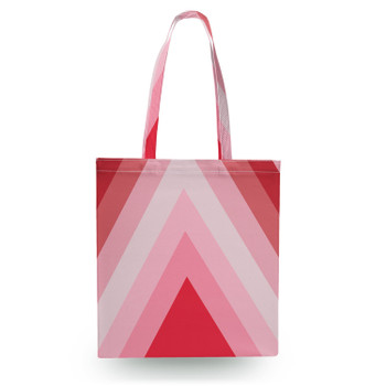 Canvas Tote Bag - The Candy Cane Wall