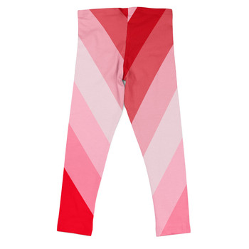 Girls' Leggings - The Candy Cane Wall