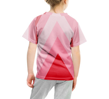 Youth Cotton Blend T-Shirt - The Candy Cane Wall