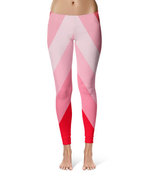 Sport Leggings - The Candy Cane Wall