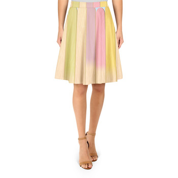 A-Line Skirt - The Popsicle Stick Wall
