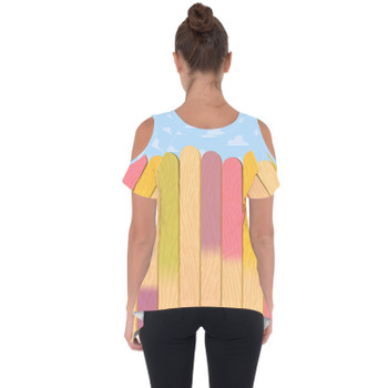 Cold Shoulder Tunic Top - The Popsicle Stick Wall