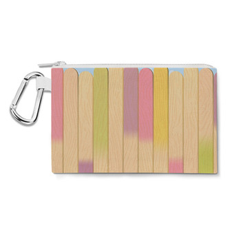 Canvas Zip Pouch - The Popsicle Stick Wall