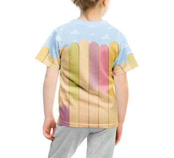 Youth Cotton Blend T-Shirt - The Popsicle Stick Wall