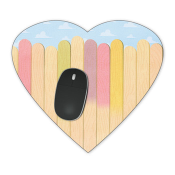 Mousepad - The Popsicle Stick Wall