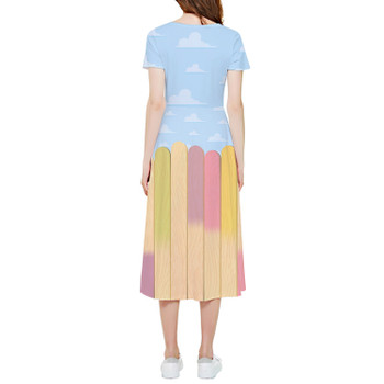 High Low Midi Dress - The Popsicle Stick Wall