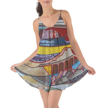 Beach Cover Up Dress - The Mosaic Wall