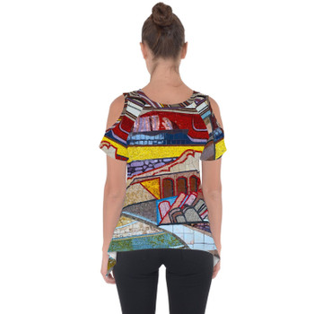 Cold Shoulder Tunic Top - The Mosaic Wall