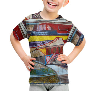 Youth Cotton Blend T-Shirt - The Mosaic Wall