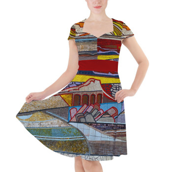 Sweetheart Midi Dress - The Mosaic Wall