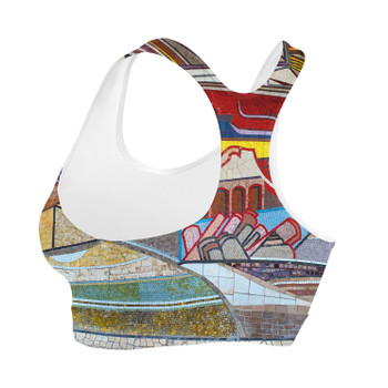 Sports Bra - The Mosaic Wall