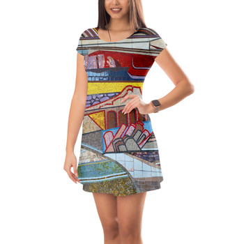 Short Sleeve Dress - The Mosaic Wall