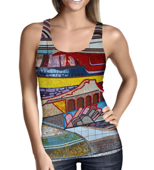 Women's Tank Top - The Mosaic Wall