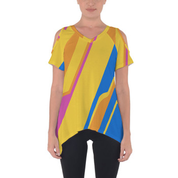 Cold Shoulder Tunic Top - The Carousel of Progress Wall