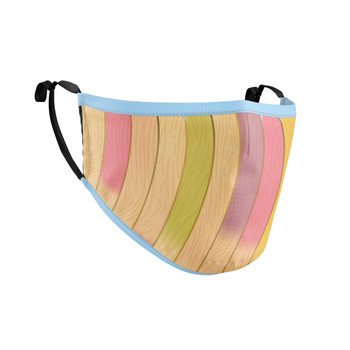 Fitted Face Mask with 50 filters - The Popsicle Stick Wall