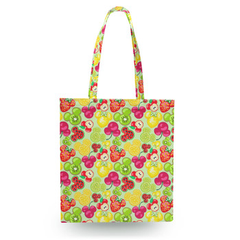 Canvas Tote Bag - Mickey's Fruit Fiesta