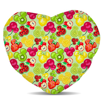 Fleece Cushion - Mickey's Fruit Fiesta