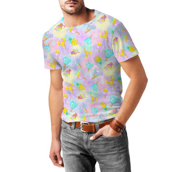 Men's Sport Mesh T-Shirt - Pastel Ice Cream Dreams