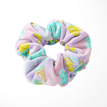 Velvet Scrunchie - Pastel Ice Cream Dreams