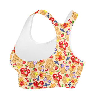 Sports Bra - Magical Breakfast Waffles