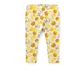Girls' Capri Leggings - Dole Whip It!