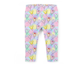 Girls' Capri Leggings - Cotton Candy Mouse Ears